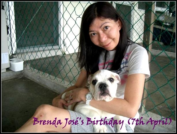 Brenda José's Birthday (7th April)