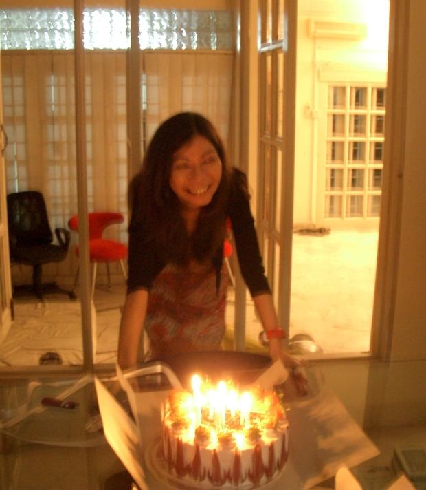 Brenda's birthday 45