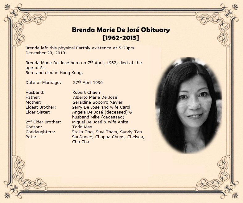 saying goodbye brenda marie de jos u00e9 obituary tribute multiple personality disorder test multiple personality disorder symptoms