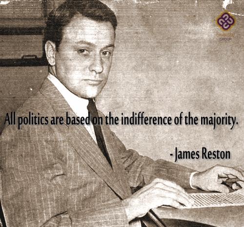 James B Reston