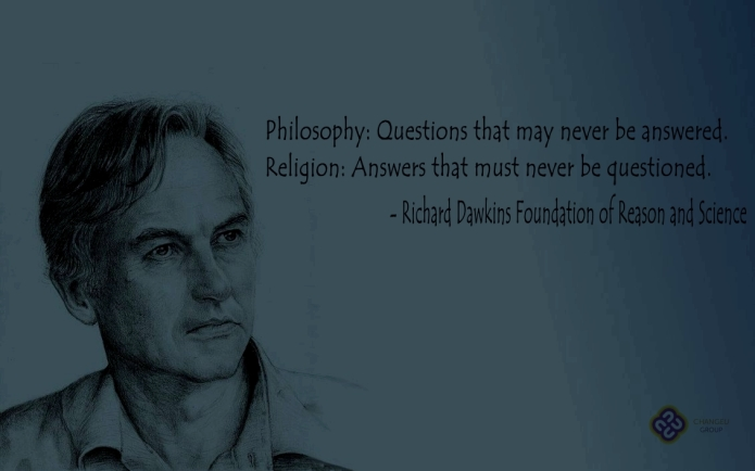 Philosophy vs. religions - Richard Dawkins Foundation of Reason and Science (2)