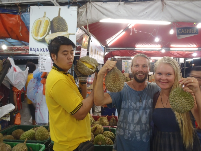 Ah Wai, Owner of SS2 Durian: Listening to the Sound of Durian Shaking