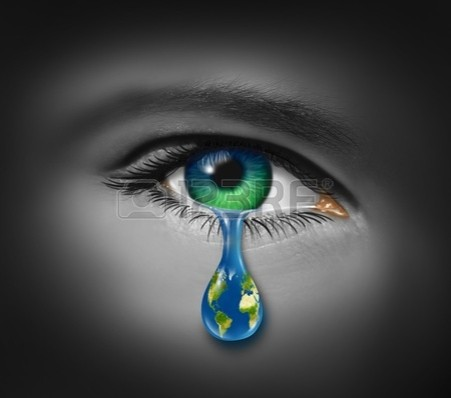 global warming - war-and-violence-with-the-tear-of-a-child-and-a-planet-earth-in-the-reflection-of-the-tear-drop
