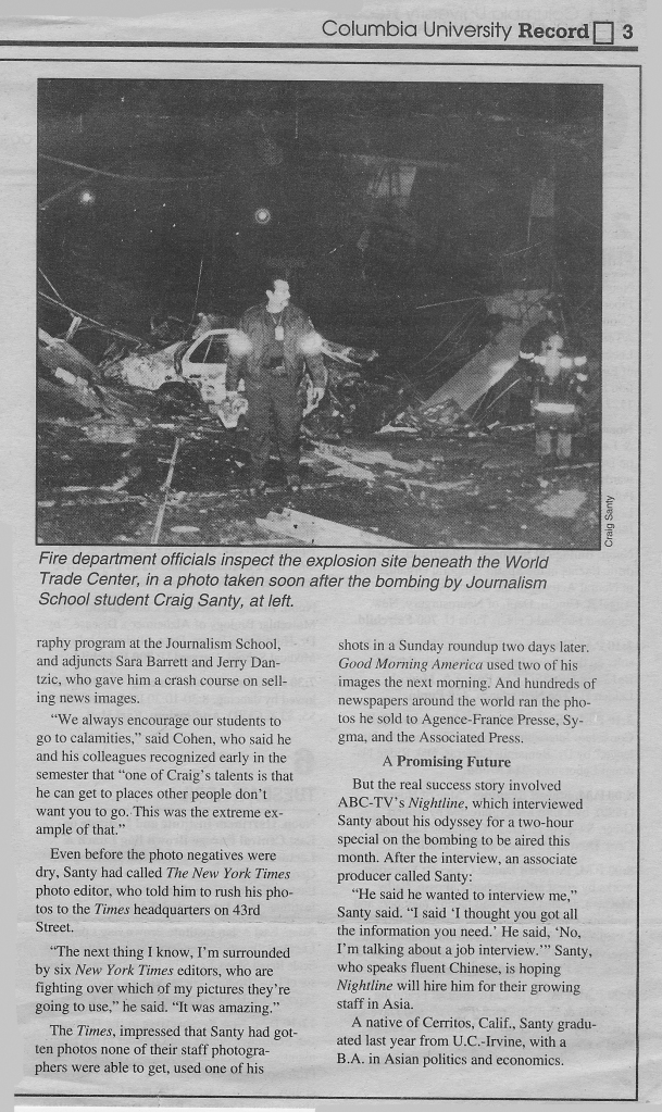 Craig WTC Article Page 2