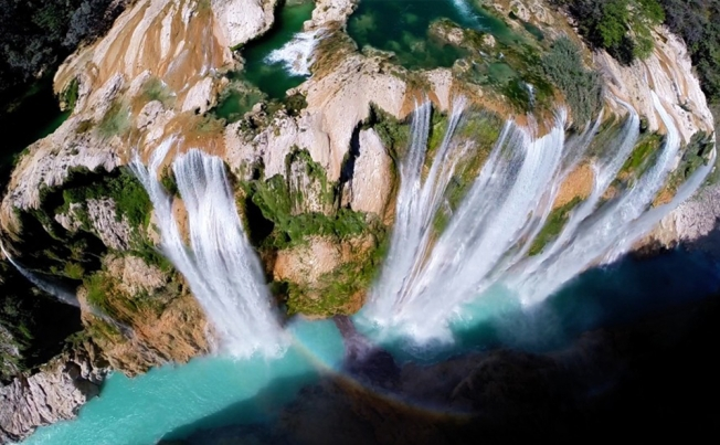 Drone's view - Mexico waterfall