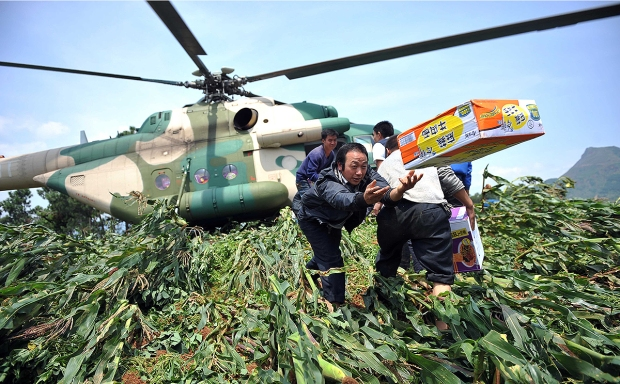 CHINA-YUNNAN-EARTHQUAKE-RESCUE (CN)