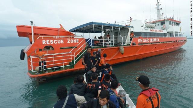 2. Orange SAR boat