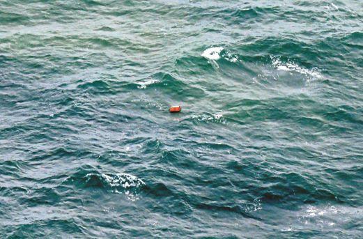 5. orange box debris