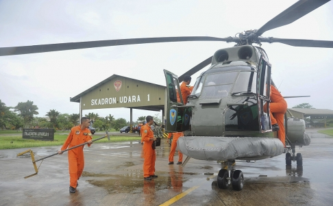 QZ8501 helicopter
