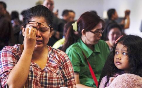 QZ8501 - weeps