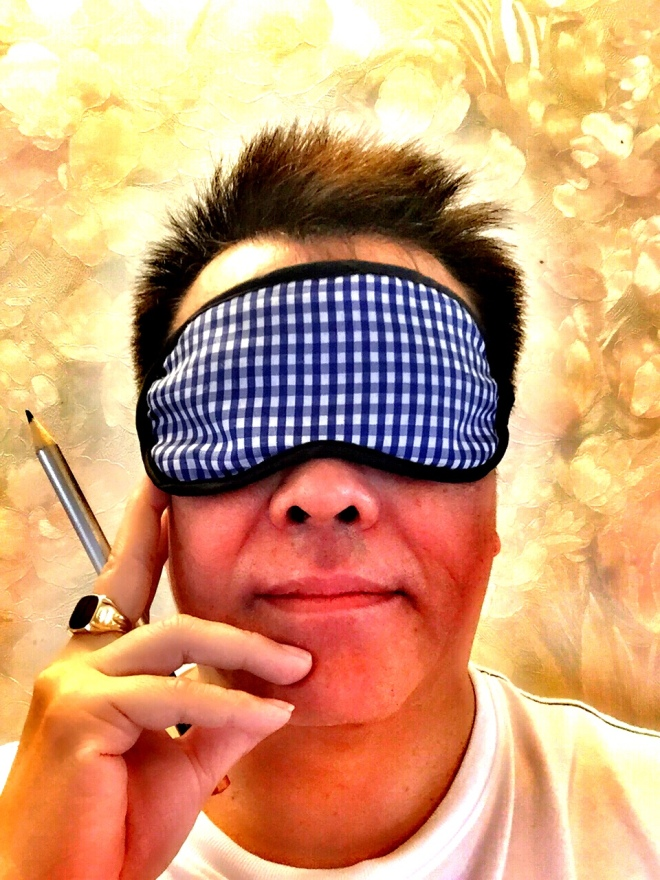 RC - blindfold & pencil