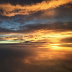 --ONE TIME USE ONLY--  --NO ARCHIVES--  This handout image shows an instagram image of a sunset by Elaine Li.  07APR15   [18JUN2015 LEAD FEATURE 2 48HRs ]