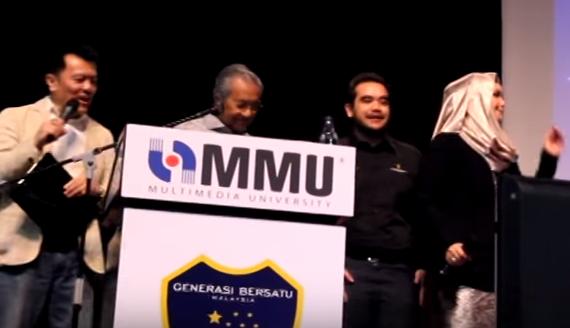Mahathir & Siti Nurhaliza duet My Way
