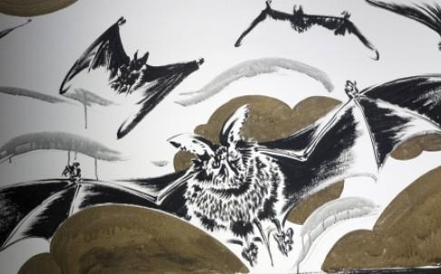 Sun Xun Bat Mural