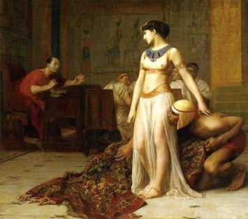 Cleopatra_and_Caesar_by_Jean-Leon-Gerome - Cropped