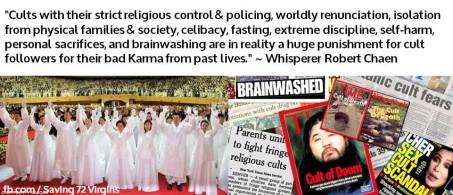 Cults - punishment