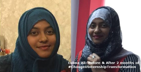 Intern Transformation - Lubna