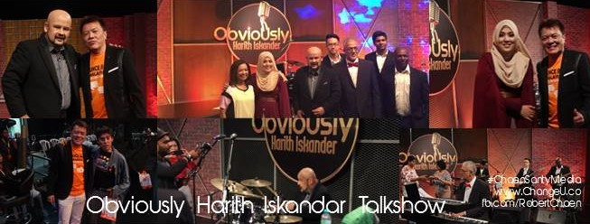 Obviously Harith Iskander Talkshow premieres on 28 May2016