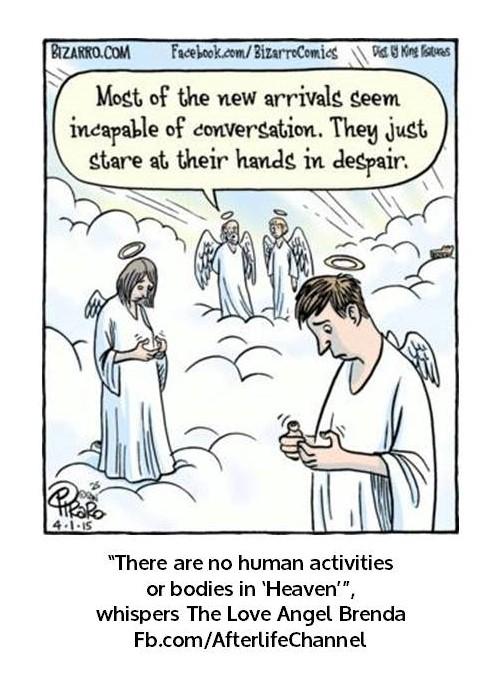 No human activities in Heaven