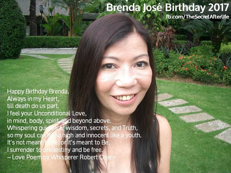 Love Poem on Brenda'sBirthday