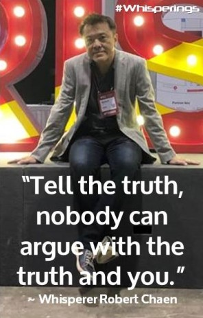 Tell the Truth, nobody can argue withe the truth and you