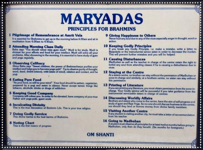 Image result for Raja Yoga Maryadas