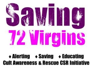 72 Virgins Logo, 3 Actions & Description
