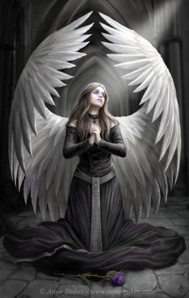 Aurora Goddess 25-Angel-art_by_Ironshod Anne Stokes