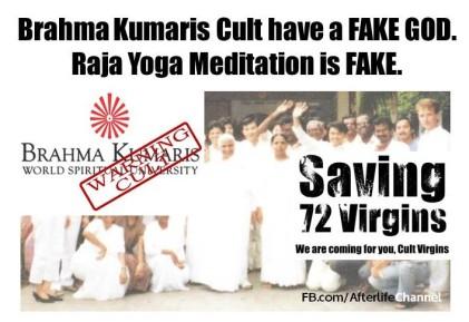 BK Cult have a Fake God
