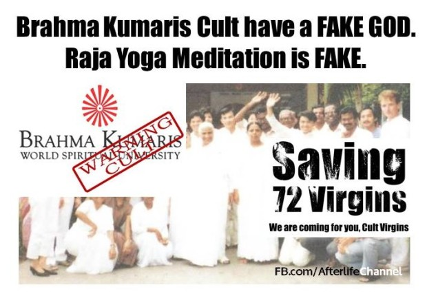Brahma Kumaris Cult have a FAKE GOD [Part 2] | Robert Chaen