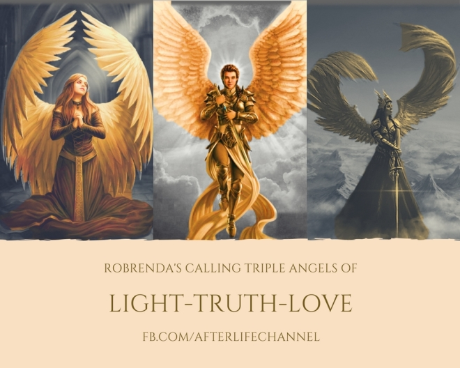triple angels of light truth love