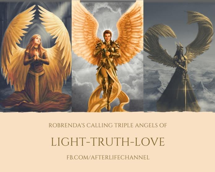 triple angels of light truth love
