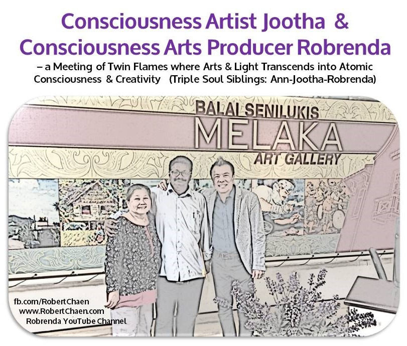 Consciousness Artist Jootha's ATOMISCAPE Art Exhibition