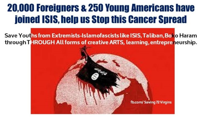 20K & 250 Americans Joined ISIS