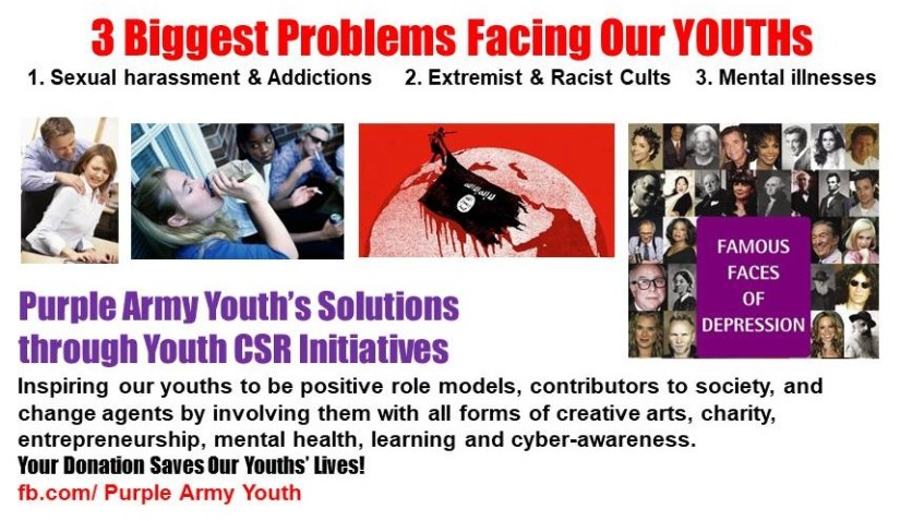 Public Plea for 3 Youth CSR Sponsorships: Purple Army Youth