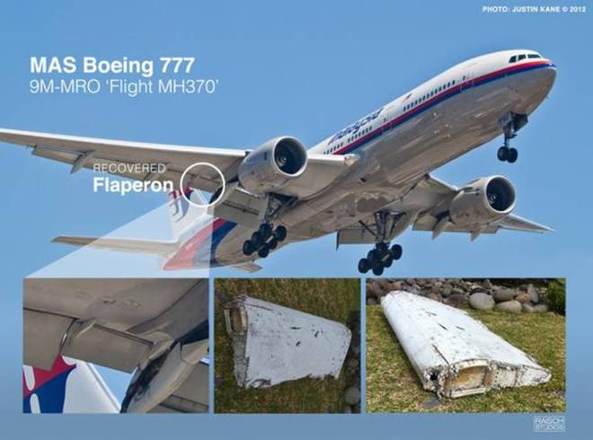 5. MH370 debris found in Renion Island