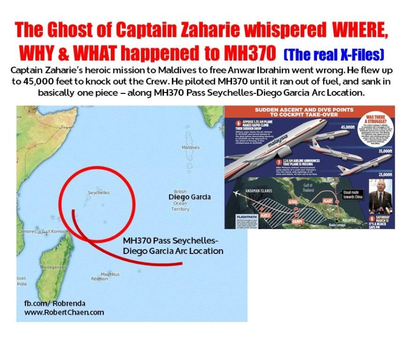 Top 12 FAQs on: The Ghost of Captain Zaharie whispered WHERE, WHY & WHAT happened to MH370