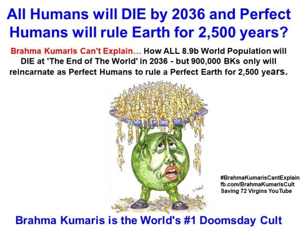 3. All 8.9 B Humans Die