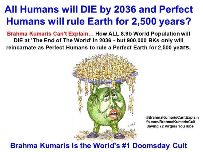 3. All 8.9 B Humans Die