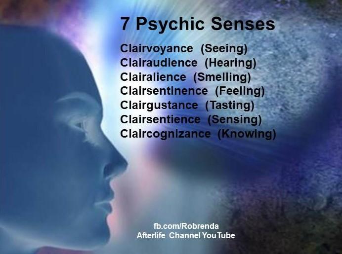 7 Psychic Senses