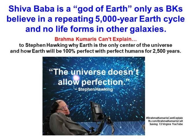 9. god of Earth & Stephen Hawking
