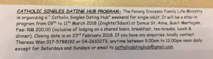 Catholic dating hub