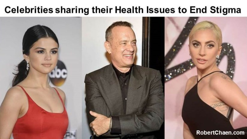 21 Celebrities Sharing their Health Issues to End Stigma and related Helplines