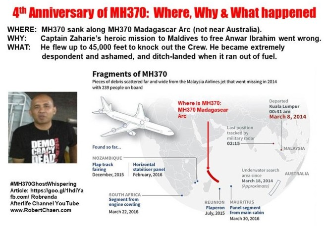 4th Anniversary of MH370