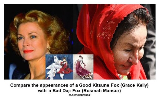 Grace Kelly compared to Rosmah Mansor