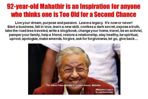 Mahathir - Inspiration