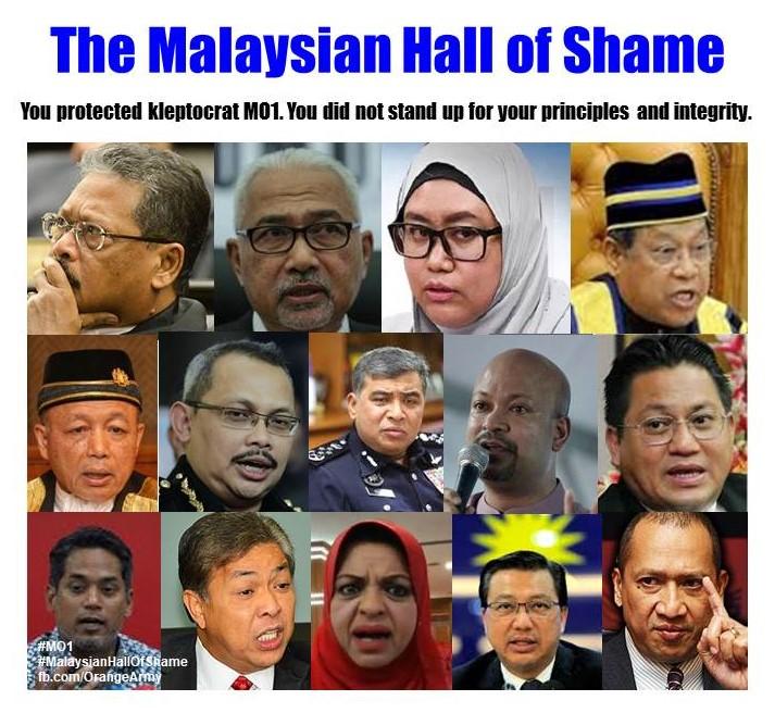 The Malaysian Hall ofShame