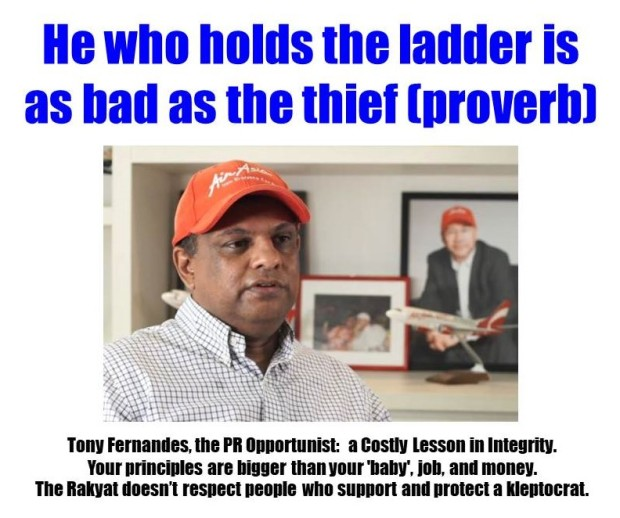 Tony Fernandes - thief