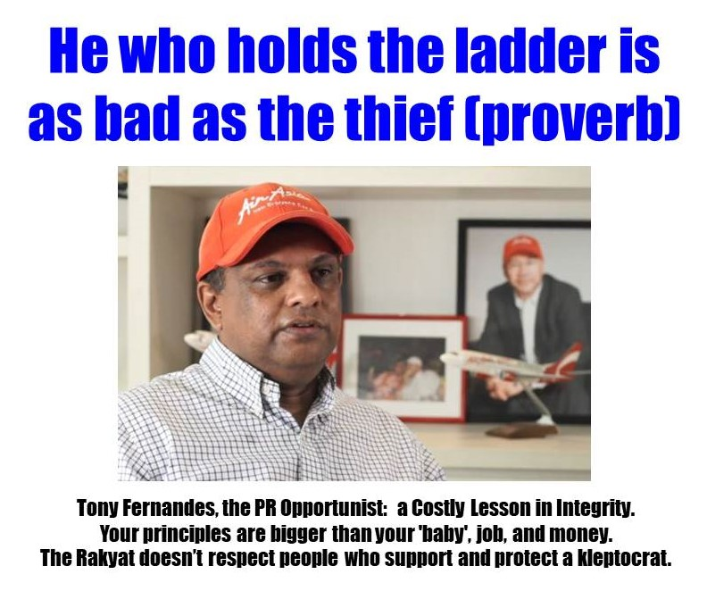 Tony Fernandes, the PR Opportunist: a Costly Lesson in Integrity