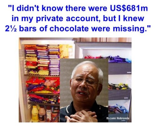 Chocolate were missing